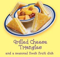 Grilled Cheese Triangles at Bob Evans
