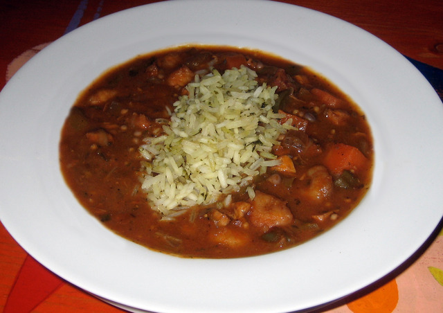 Gumbo at Lista's Grill