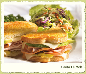 SANTA FE MELT at Coco's Restaurant & Bakery