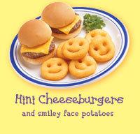 Mini Cheeseburgers at Bob Evans
