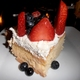 Tres Leches Cake With Fresh Seasonal Berries - Dish at Blu Jam Cafe