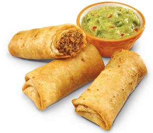 Green Burrito® Crisp Burritos - 3-piece at Carl's Jr.