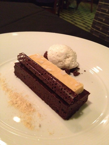 This is simply incredible - Flourless Chocolate Cake at Gastronomy