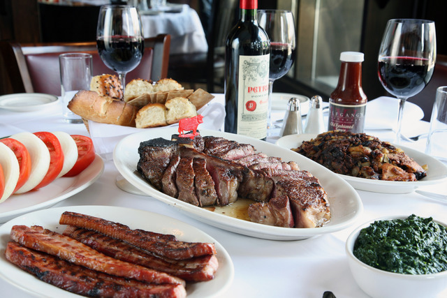 Porterhouse Dinner at Wolfgang's Steakhouse by Wolfgang Zwiener