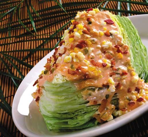Iceberg Wedge Salad at Elephant Bar Restaurant