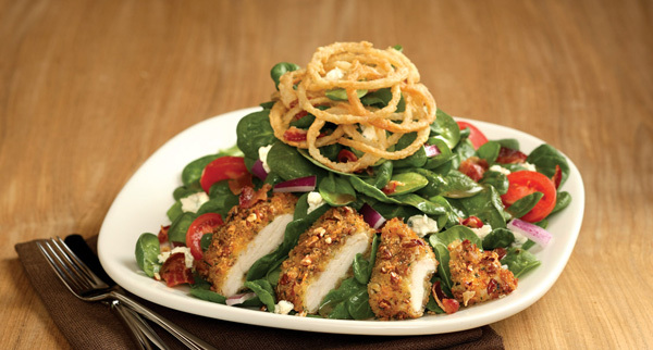 Pecan Crusted Chicken Salad at Carino's Italian Grill