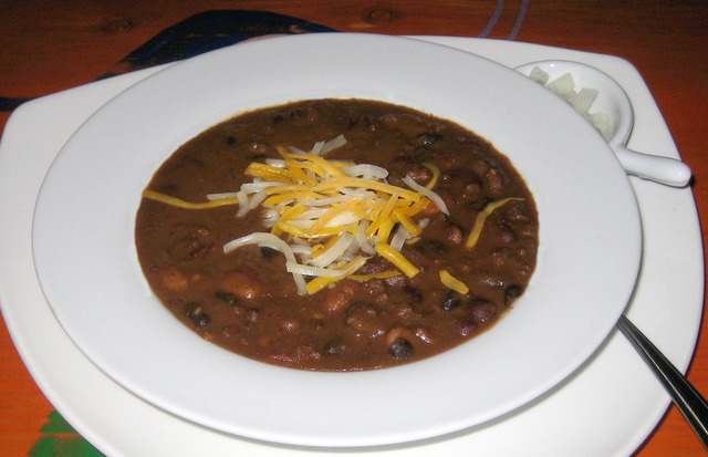 LIghts Out Chili at Lista's Grill