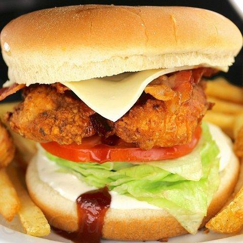 Chicken Tenders Sandwich at columbia restaurant