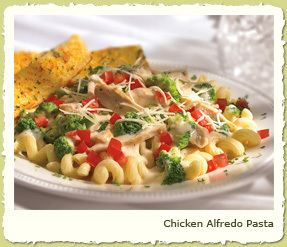 CHICKEN ALFREDO PASTA at Coco's Restaurant & Bakery