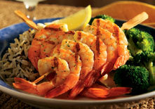 Garlic-Grilled Jumbo Shrimp at Red Lobster