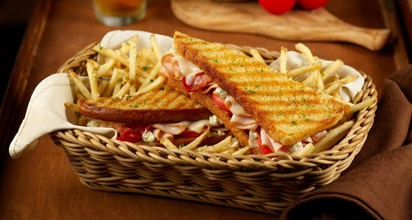 Smoked Turkey and Bacon Panini at Carino's Italian Grill