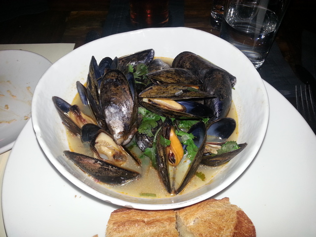 Mussels at Blue Jacket