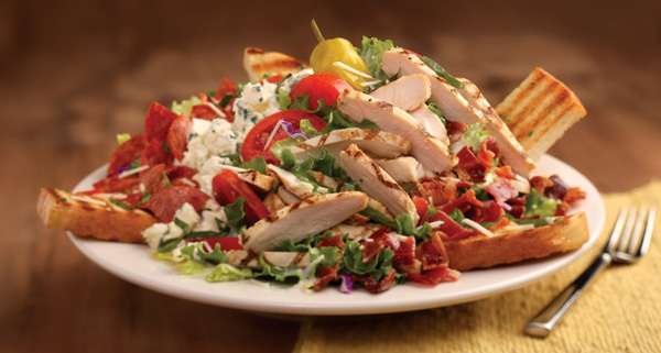Italian Chopped Club Salad at Carino's Italian Grill