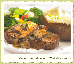 NEW ANGUS TOP SIRLOIN at Coco's Restaurant & Bakery
