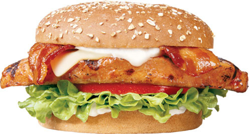 Charbroiled Chicken Club Sandwich™ at Carl's Jr.