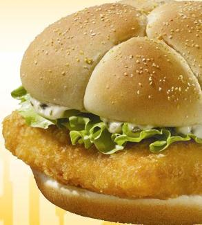 Premium Fish Fillet Sandwich at Friendly's