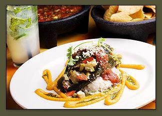 Dish at Cactus Restaurant