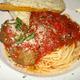 Spaghetti & Meatballs - Dish at D'angelo's Italian Pizzeria & Restaurant