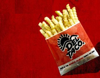 World Famous Crinkle Cut Fries™ at Del Taco