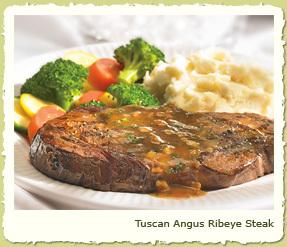TUSCAN ANGUS RIBEYE STEAK at Coco's Restaurant & Bakery