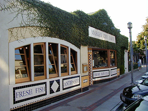 Exterior at Market City Caffe
