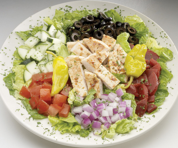 Chicken Mediterranean Salad at Big Boy Restaurants