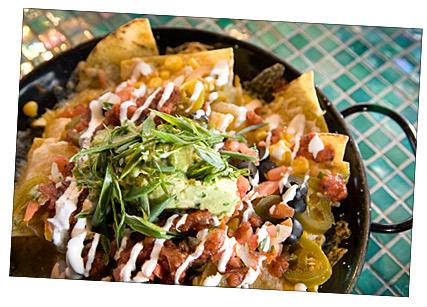 Nachos at Cactus Restaurant
