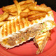 Pulled Pork Panini at Shay's Grill Pub