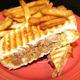 Pulled Pork Panini at Shay's Grill Pub