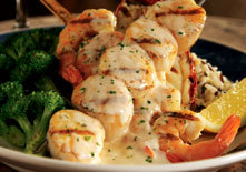 Lobster and Seafood Mixed Grill at Red Lobster
