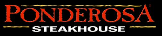 Logo at Ponderosa Steakhouse