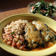 I took this photo, and others, for this restaurant's web site. - Chiles Rellenos at Taqueria La Mexicana