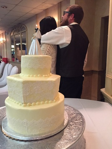 Wedding Cake at Italian Kitchen of Pennsville