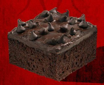 Chocolate Fudge Cake at Del Taco