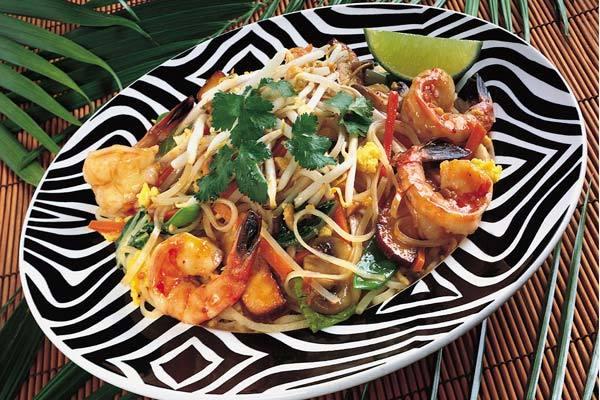 Bangkok Stir-Fried Pad Thai at Elephant Bar Restaurant