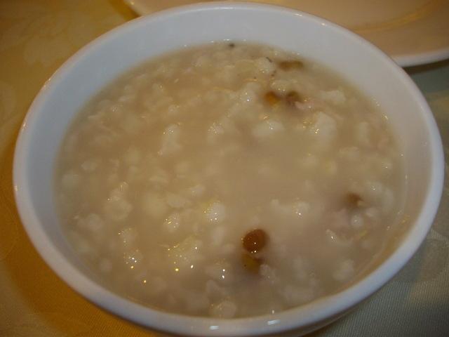Porridge at Happy Family Restaurant 3