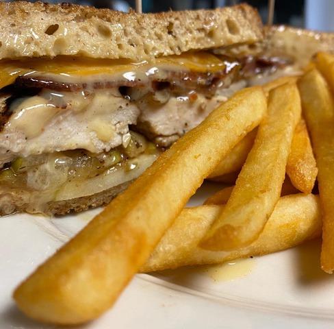 Chicken Apple Sandwich at Stockholm's