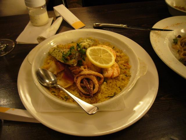 Seafood Paella at Kitanoya Guu