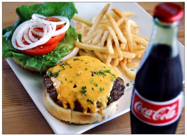 Angus Burger at Kafe Neo