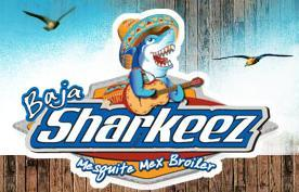 Logo at Baja Sharkeez