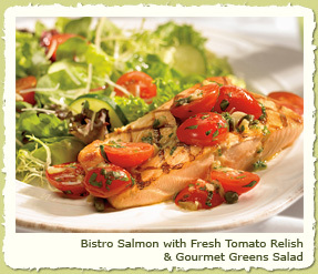 BISTRO SALMON at Coco's Restaurant & Bakery
