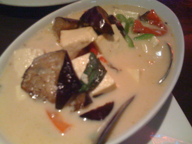 Green Curry at Thai Dishes