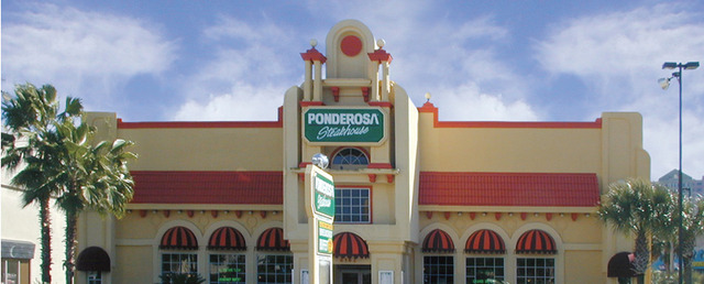 Exterior at Ponderosa Steakhouse