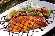 MisoYaki Fire Grilled Salmon at Elephant Bar Restaurant