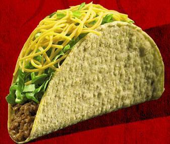 Taco at Del Taco