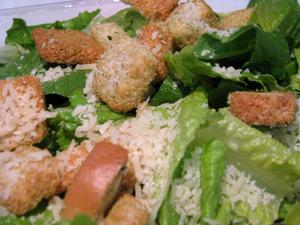 Caesar Salad at Theo's Pizzeria & Grill